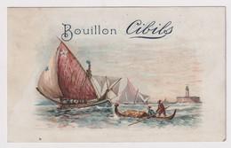CHROMO BOUILLON CIBILS     2 SCANS - Otros