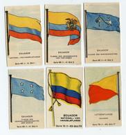 Fahnen / Flags 1929 - 66 - Ekuador, Ecuador - 6 Chromo's - Sin Clasificación