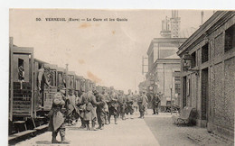 VERNEUIL 'eure) - La Gare Et Les Quais - Verneuil-sur-Avre