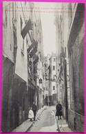 Cpa Paris Rue De Venise Cabaret De L'Epée Fréquenté Par Molière, Racine, Marivaux Et Première Académie De La Danse 1905 - Otros