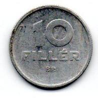 Hongrie -  10 Filler 1964 - TTB - Hungary