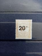 FRANCE.1908 . TAXE N° 49 .  NEUF Avec Trace De  Charnière . Côte YT 2020 : 40,00 € - 1859-1955.. Ungebraucht