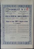 VOORUIT Nr 1 Vrijdagmarkt / Marche Du Vendredi GAND 1918 - Sin Clasificación