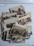 Lot De 100 Cartes Chateau De France -- 7 Scans - 100 - 499 Postcards