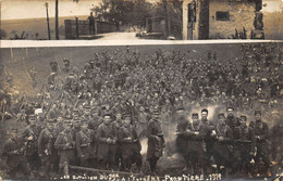 CARTE PHOTO  POILUS 1 ER BATAILLON DU 79 E - Weltkrieg 1914-18