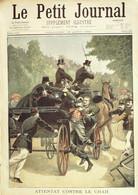 Petit Journal-1900-509-TURQUIE ATTENTAT SHAH-TRANSVAAL MORT Cdt LAMY - Le Petit Journal