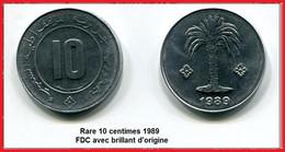 10 Centimes 1989 FDC - Algeria