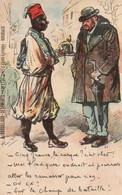CPA , Illustrateur HENRIOT : 1918 Cinq Francs Le Casque ...Publicité A. Brouillaud , Bordeaux - Henriot