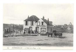 CPA 62 - AUDRESSELLES - L'HOTEL DE LA PLAGE (RESTAURANT - ATTELAGE) - Altri Comuni