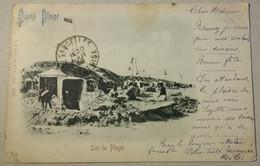 62  PARIS  PLAGE     SUR  LA  PLAGE    ( CPA PRECURSEUR VOYAGEE LE  20 AOUT 1900 ) - Sin Clasificación