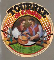 ETIQUETTE De FROMAGE.. TOURREE De L'AUBIER Fabriqué Dans Le LOT (46).. IDEVAL à METZ (57) - Cheese