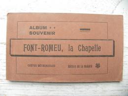 CPA (66) Pyrénées Orientales - FONT ROMEU, La Chapelle - Carnet Complet De 12 Cartes - Andere Gemeenten