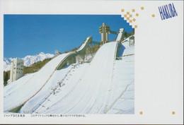 Japan Postal Stationary With Nagano 1998 Olympic Games Postmark (G122-28) - Invierno 1998: Nagano