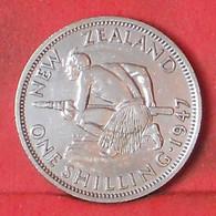 NEW ZEALAND 1 SHILLING 1947 -    KM# 9a - (Nº39686) - Nuova Zelanda