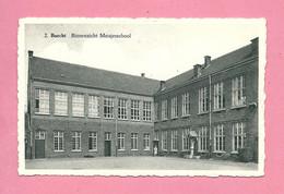 C.P. Burcht =  Binnenzicht  Meisjesschool - Zwijndrecht