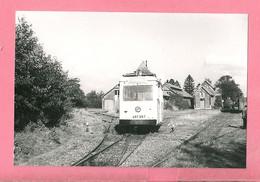 Photo   Burdinne = Tram   Station  Et  Dépôt - Reproductions