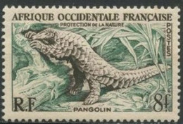 AFRIQUE OCCIDENTALE FRANCAISE -  Pangolin - Unused Stamps