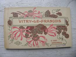 (51) Marne - Vitry Le François - Carnet Complet De 12 Cartes Postales Détachables - Vitry-le-François