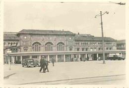 France Strasbourg La Gare 1951 Photo 7 X 10 Cm - Plaatsen