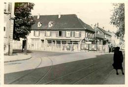 France 1951 Strasbourg KHEL Limite De Zone Photo 7 X 10 Cm - Plaatsen