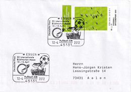 Germany 2012 Cover; Football Fussball Soccer Calcio; UEFA Euro Ukraine; Stamp Fair Essen; Für Den Sport Football Stamp - 2010 – Zuid-Afrika