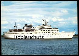 ÄLTERE POSTKARTE FÄHRE MS ILMATAR FÄHRSCHIFF POSTED ON BOARD PRINSESSAN BIRGITTA Ferry Schiff Motorschiff Ship Bateau AK - Fähren