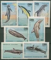 Kuba 1984 Wale: Delphin, Pottwal, Tümmler 2828/34 Postfrisch - Neufs