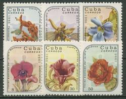 Kuba 1986 Botanischer Garten Exotische Pflanzen 2990/95 Postfrisch - Neufs
