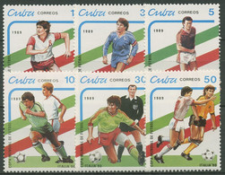 Kuba 1989 Fußball-WM Italien 3271/76 Postfrisch - Neufs