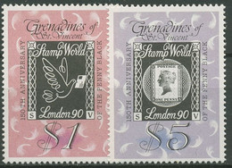 St. Vincent-Grenadinen 1990 STAMP WORLD Black Penny 700/01 Postfrisch - St.Vincent Und Die Grenadinen