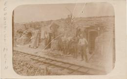 62) Carte-Photo : ECOUST-ST-MEIN - Carte Allemande - Tranchée - Kriegsjahr 1918 - 1.WK - WW1 - Otros Municipios