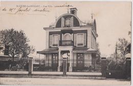 CPA Saint Léger Les Domart (80) La Belle Villa Dite Canadienne Du Sénateur Anatole Jovelet Ancien Maire  Ed S Petit - Sonstige Gemeinden