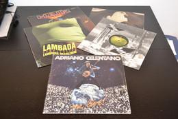 Gli Introvabili: Beatles - Celentano - Santana - Lambada E Hair. 5 Dischi 33 Giri Originali. - Collezioni