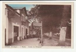 Sorges 4 Routes Avenue De Périgueux (enfant Handicapé Dans Sa Voiture) - Andere Gemeenten
