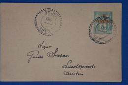 F4 MAROC ESPAGNOL BELLE LETTRE 1896 SAFI POUR LUSSINPICCOLO +ENTIER DU N 1 CACHET FB.54 - Spanish Morocco
