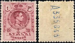 ESPAGNE / SPAIN / ESPAÑA 1909 Ed.278 / Mi.240A 1Pta Tipo Medallon Bien Centrado* - Usados