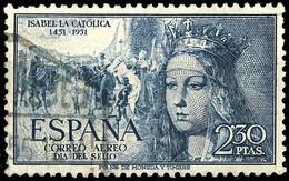 ESPAGNE / SPAIN / ESPAÑA 1951 2P50 Isabella La Catolica Mi.1002 / Yv.PA254 ° - 1951-60 Ungebraucht