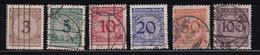 ALEMANIA IMPERIO 1923 -  Serie Completa Usada Yvert Nº 331/336 - Gebruikt