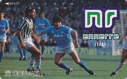 Télécarte Japon / 110-011 - FOOTBALL - DIEGO MARADONA / ARGENTINA VS ITALY - SOCCER Sport Japan Phonecard - 1140 - Sport