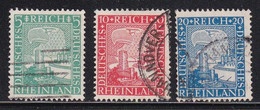 ALEMANIA IMPERIO 1925 -  Serie Completa Usada Yvert Nº 365/367 - Gebruikt