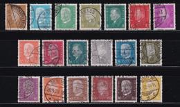 ALEMANIA IMPERIO 1928-32   Serie Completa Usada Yvert Nº 401/414 - Gebruikt