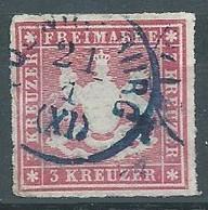 Wurtemberg YT N°31 Armoiries Oblitéré ° - Wurtemberg