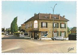78 - ORGEVAL - L'auberge Sans Nom - Ed. ESTEL N° F. 22.001-R - Citroën DS - Orgeval