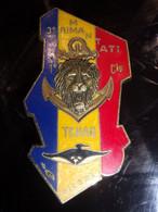 Insigne Opération Manta - 3° Régiment D' Infanterie De Marine - Tchad - Hueste