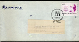 Argentina - 1988 - échecs - Cachet Spécial - II International Open Tournament - Banco Credito Argentino - A1RR2 - Scacchi