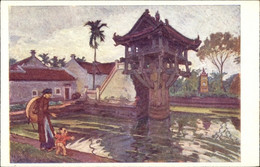 Artiste CPA Hanoi Vietnam, Pagode De Mot Cot - Vietnam