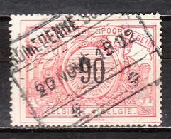 TR25  Chiffres Noirs - Bonne Valeur - Oblit. ROMEDENNE-SURICE - LOOK!!!! - 1895-1913