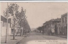 TUNISIE FERRYVILLE MENZEL BOURGUIBA AVENUE DE FRANCE TBE - Túnez