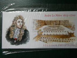 FRANCE BLOC SOUVENIR N°80 JARDINS DE FRANCE LE NOTRE 2013 COTE 36 EURO NEUF ** SOUS BLISTER D'ORIGINE - Souvenir Blokken