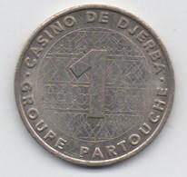 Jeton De Slot Machine à Sous : Casino Partouche De Djerba Tunisie (Diamètre  29,5 Mm) - Casino